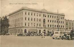 Pays Divers - Canada -ref 602  -london - Municipal Offices - Voitures Thème Automobile - Carte Bon état - - Canada