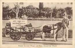 Pays Divers - Canada -ref 601  - Pionner Covered Wagon And  Pony -- Carte Bon état - - Canada