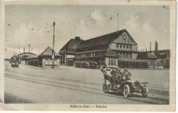 CPSM MUELHEIM A. D. RUHR (Allemagne-Rhénanie Du Nord Westphalie) - Bahnhof - Muelheim A. D. Ruhr