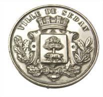 Sedan - Ardennes - Médaille De Tir - Ville De Sedan - 39mm -  Argent - Professionals / Firms