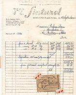 - FACTURE - 03 - SAINT-POURCAIN-SUR-SIOULE - Vve SINTUREL - 006 - Factures & Documents Commerciaux