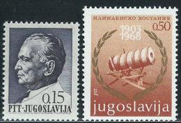 Jugoslavia 1967/8 Nuovo** - Mi.1208;1296  Yv.1100;1189 - 1945-1992 Repubblica Socialista Federale Di Jugoslavia