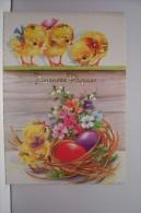 JOYEUSES PAQUES -poussins  N°3 - Easter