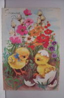 JOYEUSES PAQUES -poussins  N°4 - Easter