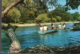 Postcard , Romania, Buzau, Boats On The Lake From Crang Park - Rumänien