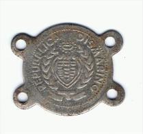 SAN MARINO - Medallita - San Marino