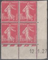 Semeuse  N° 238 Neuf ** Gomme D'Origine, Voir état. - 1906-38 Semeuse Camée