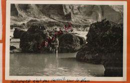 CPA 14, HOULGATE,  Les Roches, La Pêche Aux Moules,  Personnages, , Juil  2013 1449 - Houlgate