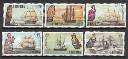 LIBERIA ° YT N° 579 580 581 582 583 584 - Liberia