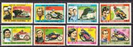 Equatorial Guinea CTO Set - Motorbikes