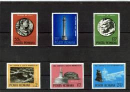 1975 - Annee Int. De La Protection Des Monuments Yv No 2901/2906 Et Mi 3267/3272 MNH - 1948-.... Republics