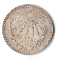 MEXIQUE  1   PESO  1933   ARGENT - Mexique