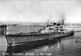 Incrociatore Garibaldi A Taranto - Viaggiata Nel 1957 - Guerra