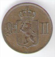 NORVEGIA 1 ORE 1876 - Norvegia