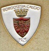 Pq1 Pin Borgosesia Calcio Distintivi FootBall Soccer Pin Spilla Italy Vercelli Ufficiale - Calcio
