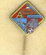 Pq1 Pin Atletico Catania Calcio Distintivi FootBall Soccer Pin Spilla Italy - Calcio