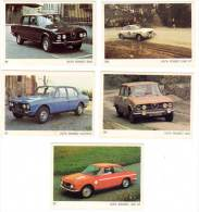 5 Cartes Americana Munich : Alfa Roméo 2000 GT, 1300 GT, 2000, Alfetta - Autres Collections