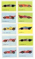 10 Cartes Americana Munich, Voitures De Courses, Circuit :  Matra Simca, Alfa Roméo, Ferrari, Lola, Porsche, Fiat Abarth - Autres Collections