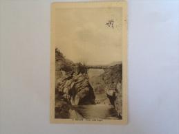 S. VINCENT PONTE DELLE CAPRE DEL 1915 VIAGGIATA - Italia