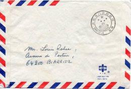 Bloc N°103 Oblitere Sur Lettre Pour La France - 1949 - ... République Populaire
