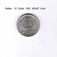 BELIZE    10  CENTS  1981  (KM # 35) - Belize