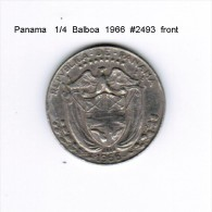 PANAMA    1/4  BALBOA  1966  (KM # 11a) - Panama