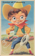 Moving Eyes, Oogjes, Valkenburg,Cowboy, Lasso - Humor