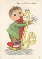 Moving Eyes, Oogjes, Muziek, Blaasinstrument - Humor