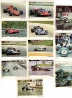 12 Cartes Americana Munich, Voitures De Courses, Circuit, Formule 1 :  Lotus, Tyrrel, Brabham, March Alfa, ... - Autres Collections