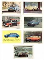 7 Cartes Americana Munich, Automobiles Renault : 5, 12, 10, 15, 16, - Autres Collections