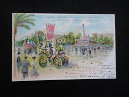 Avant 1903. Nice : Carnaval. Corso Automobile Fleuri ( Edition Spéciale Du Comité Des Fêtes ) - Carnaval