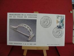 FDC, Bimillénaire De La Ville De Limoges, Foire Exposition - 87 Limoges -  3.5.1991 - 1er Jour - - FDC