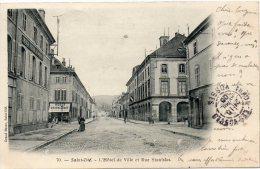SAINT DIE L'HOTEL DE VILLE ET RUE STANISLAS - Saint Die