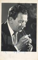 Rupert Davies, Maigret, Signed Photo Sincerely Rupert Davies Maigret - Foto Dedicate