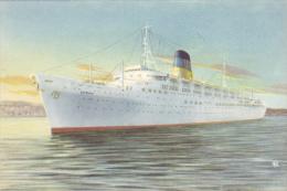 General Steam Navigation Co. Ltd Of Greece , Ship T.s.s. OLUMPIA , 30-50s #1 - Greece