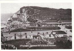Postcard ILFRACOMBE Capstone Hill Victoria Pavilion 1906 Edwardian Devon Repro - Ilfracombe