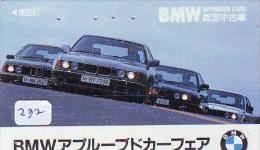 Télécarte JAPON * BMW (232)  Phonecard JAPAN * VOITURE * AUTO * CAR * TELEFONKARTE - Cars