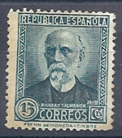 130605653  ESPAÑA  EDIFIL  Nº 657N  NUM. A000000  (*)  (CAT 40€) - 1931-50 Nuevos & Fijasellos