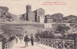 LATOUR-de-FRANCE (Pyr. Or.) : Entrée Du Village Et Route De Rasguières - Frankrijk