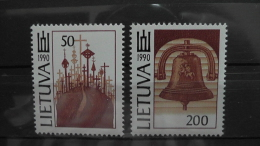 Lithuania - Mi.Nr. 468-69**MNH - 1991 - Look Scan - Lithuania