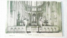 TROYES   LA CATHEDRALE LE CHŒUR394 D - Troyes