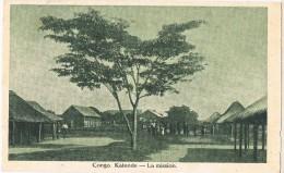 4512. Postal KATENDE (Congo). La Mission - Congo Francés - Otros