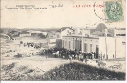 """40- CAPBRETON PLAGE-PRIX CASSE- FRONTON De La """"COTE D´ARGENT """" Avant La PARTIE  Theme Pelote Basque , Animation RARE TOP - Capbreton"""