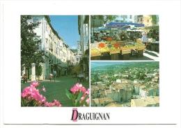 Nº251 DRAGUIGNAN - LA RUE GEORGES CISSON - LA PLACE DU MARCHÉ ET LA PORTE AIGUIÈRE - Draguignan