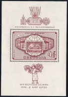 Mongolia,  Scott 2013 # C5,  Issued 1965,  S/S Of 1,  LH, Cat $ 4.50,  Philatelic - Mongolia
