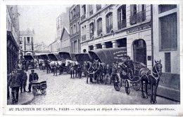 75  PARIS 14  AU PLANTEUR DE CAIFFA  CHARGEMENT ET DEPART DES VOITURES SERVICES DES EXPEDITIONS - District 14