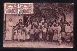 AFR2-87 ANGOLA ESCOLA DA MISSAO AMERICANA EM QUIONGUA - Angola