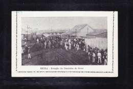 AFR2-95 MOZAMBIQUE BEIRA ESTACAO DO CAMINHO DE FERRO - Mozambique
