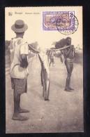 AFR3-12 CENTRAL AFRICAN REPUBLIC BANGUI PECHEURS SANGOS - Centrafricaine (République)