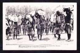 AFR3-23 MOZAMBIQUE NATIVE WAR DANCERS - Mozambique